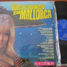 Discos de vinilo: VACACIONES A MALLORCA 1968. LOS STOP, THE BRISKS, LOS OLIVER´S, LOS DE LA TORRE…, . Lote 131885362