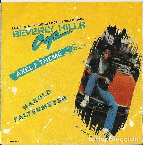 HAROLD FALTERMEYER ?– AXEL F (ESPAÑA, 1984) (Música - Discos - Singles Vinilo - Bandas Sonoras y Actores)