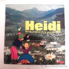 Discos de vinilo: HEIDI – HEIDI (BANDA ORIGINAL DE LA SERIE DE RTVE) VOL. 1 - CAPÍTULO 1 Y 2 (ESPAÑA, 1975). Lote 132184030