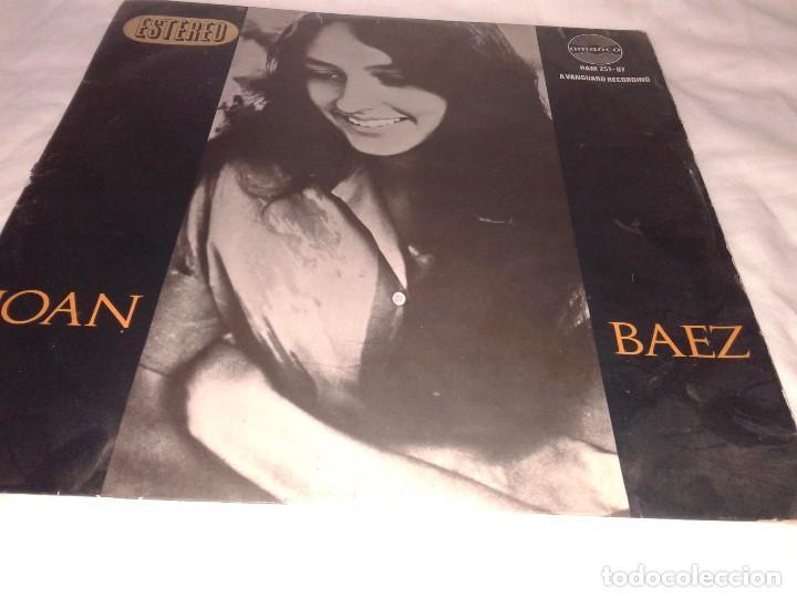 JOAN BAEZ (Música - Discos - LP Vinilo - Cantautores Internacionales)