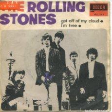 Vinyl-Schallplatten - ROLLING STONES / GET OFF MY CLOUD / I'M FREE (SINGLE 1965) - 132191882