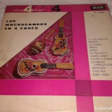 Discos de vinilo: LOS MACHUCAMBOS EN 4 FASES, 1964. Lote 132192042