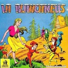 Discos de vinilo: LA BLANCANEUS, SINGLE ODEON 1960 (DISCO-CUENTO). Lote 132192210