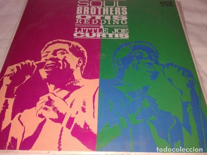 OTIS REDDING,LITTLE JOE CURTIS, SOUL BROTHERS,, 1968 (Música - Discos de Vinilo - EPs - Pop - Rock Extranjero de los 50 y 60)