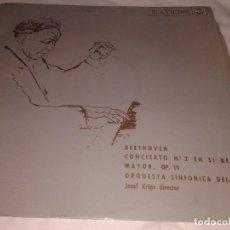 Discos de vinilo: BEETHOVEN, ORQUESTA SINFONICA DEL AIRE, 1965. Lote 132193530