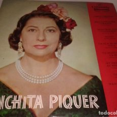 Discos de vinilo: CONCHITA PIQUER, A CONCHA PIQUER, 1962. Lote 132193698