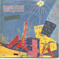 Discos de vinilo: ROLLING STONES / GOING TO A GO GO / BEAST OF BURDON (SINGLE 1982). Lote 132194794