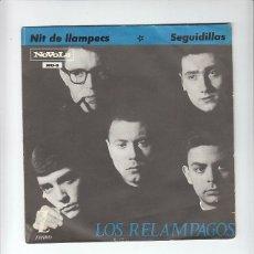 Discos de vinilo: LOS RELAMPAGOS: POP ESPAÑOL EN CATALAN- EXCELENTE ESTADO VINILO- PORTADA SUPER BIEN. Lote 180339755