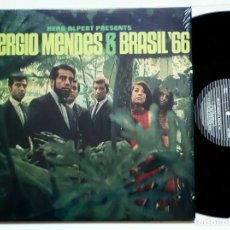 Discos de vinilo: SERGIO MENDES & BRASIL '66 (AUDIO CLARITY, 2018) LP 180 GRAMS - HERB ALPERT - BOSSA NOVA - COOL!. Lote 132198610