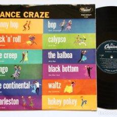 Discos de vinilo: DANCE CRAZE (CAPITOL RECORDS, 1958) HIGH FIDELITY RECORDING, T-927. Lote 132199494