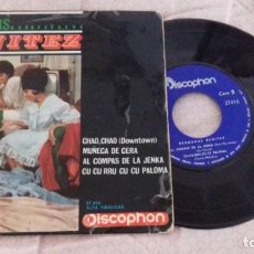 Discos de vinilo: SINGLE - HERMANAS BENITEZ - CHAO,CHAO - YEAR 1965 - EDITION SPANISH. Lote 132200818