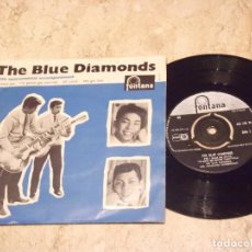 Discos de vinilo: THE BLUE DIAMONDS – I KISSED YOU / I'M GONNA GET MARRIED / OH CAROL / WE GOT LOVE / FONTANA-1960-HO. Lote 132204078