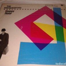 Discos de vinilo: THE HOUSE-MARTINS HAPPY HOUR 1986. Lote 132206674