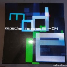 Discos de vinilo: DEPECHE MODE - REMIXES 81....04, BOX SET, EDICIÓN LIMITADA, 6XLP MUTE – MUTEL8 ,2004. Lote 132207370