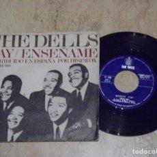Discos de vinilo: THE DELLS – HAY / ENSEÑAME / CHESS – H 288, HISPAVOX ?– H 288. Lote 132210370