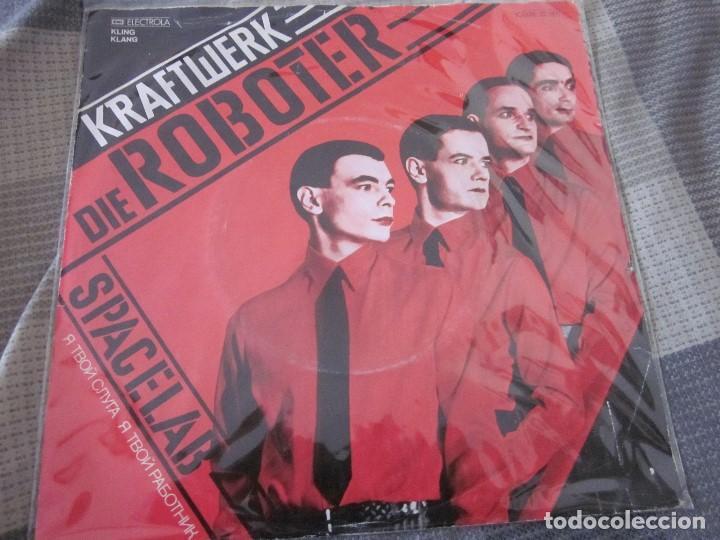 Discos de vinilo: KRAFTWERK - LOTE DE 3 SINGLES EN EDICION ALEMANA - VER FOTOS Y DESCRIPCION. - Foto 2 - 132212022