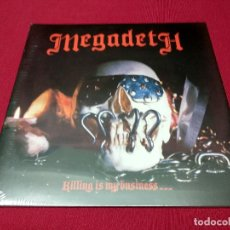 Discos de vinilo: MEGADETH, KILLING IS MY BUSINESS. NUEVO.. Lote 132213806
