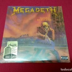 Discos de vinilo: MEGADETH, PEACE SELLS, BUT WHO'S BUYING?. VINILO DE 180GR. NUEVO. . Lote 132214878