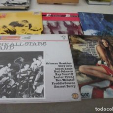 Discos de vinilo: LOTE DE 5 LPS VARIADOS EXTRANJEROS, BEE GEES, EVERLY BROTHERS, ENYA, ALL STARS BAND Y RECOP. FOLK. Lote 132218606