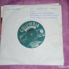 Discos de vinilo: CLIFF RICHARD AND THE SHADOWS. EXPRESSO BONGO. EP. COLUMBIA, 1960. EDIC. INGLESA.. Lote 132221534