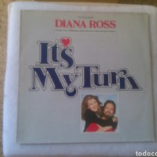 Discos de vinilo: DIANA ROSS LP IT'S MY TURN 1980 VG RARO SOUNDTRACK. Lote 132226161