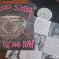 Discos de vinilo: TWISTED SISTER `COME OUT AND PLAY` 1985 USA. Lote 131907366