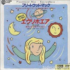 Discos de vinilo: LIQUIDACION! PROMO SINGLE JAPON FLEETWOOD MAC - EVERYWHERE. Lote 132246046