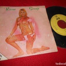 Discos de vinilo: RICOR GROUP ADIOS A RIO/VOLVER AL AMOR/XAN DAS CANICAS +1 EP 1976 IRIS PROMO RARO. Lote 132257670