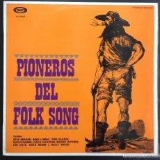 Discos de vinilo: PIONEROS DEL FOLK SONG FOLKWAYS RECORDS M-18.147 PETE SEEGER, BESS LOMAX, ETC EXCELENTE. Lote 132265402