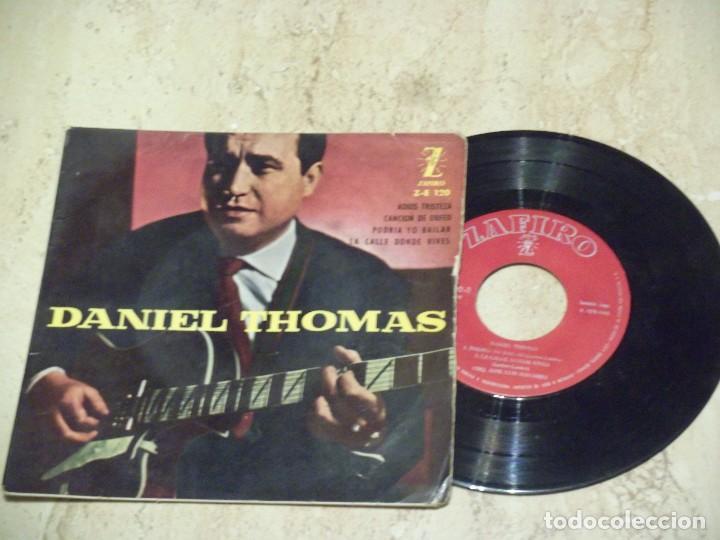 DANIEL THOMAS - ADIOS TRISTEZA + 3 EP 1960 (Música - Discos de Vinilo - EPs - Grupos Españoles 50 y 60)