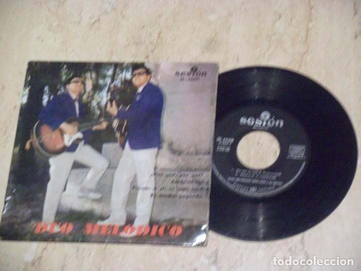 DUO MELÓDICO - POR QUÉ, POR QUÉ? + 3 ****** RARO EP SESION -1963 (Música - Discos de Vinilo - EPs - Grupos Españoles 50 y 60)