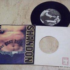 Discos de vinilo: SHANDON ?– DUE GUSTI... DUE BACI- GAPPA RECORDS ?– G.R. N° 2- EP, 33 ? RPM -ROCK , PUNK, SKA- 1997-. Lote 178588653