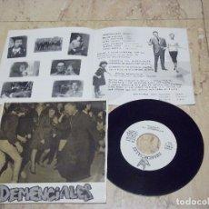 Discos de vinilo: DEMENCIALES 1990 ESTO ES DEMENCIAL CONNEXIO TERRASSA 1991 GGG RECORDS-COMPLETO CON HOJA-EXC. Lote 132280154