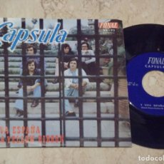 Discos de vinilo: CAPSULA - SINGLE - / Y VIVA ESPAÑA / TIE A YELLOW RIBBON / RARE**** SPAIN - FONAL-1973-. Lote 132284550