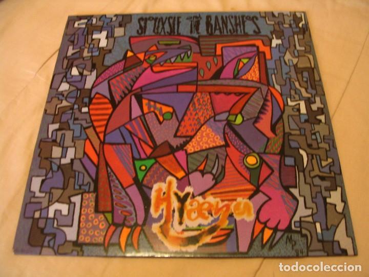 SIOUXSIE AND THE BANSHEES LP HYAENA POLYDOR ORIGINAL ESPAÑA 1984 + FUNDA (Música - Discos - LP Vinilo - Pop - Rock - New Wave Extranjero de los 80)