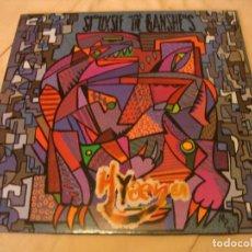 Discos de vinilo: SIOUXSIE AND THE BANSHEES LP HYAENA POLYDOR ORIGINAL ESPAÑA 1984 + FUNDA. Lote 132302666
