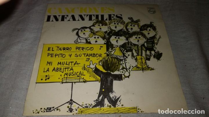 BURRO PERICO-PEPITO TAMBOR-MULITA-ABEJITA MUSICAL (Música - Discos de Vinilo - EPs - Música Infantil)