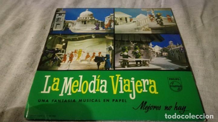 LA MELODIA VIAJERA-GRAN CONCURSO RECORTABLES PHILISPS (Música - Discos de Vinilo - EPs - Música Infantil)
