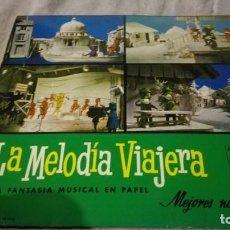 Discos de vinilo: LA MELODIA VIAJERA-GRAN CONCURSO RECORTABLES PHILISPS. Lote 132304298