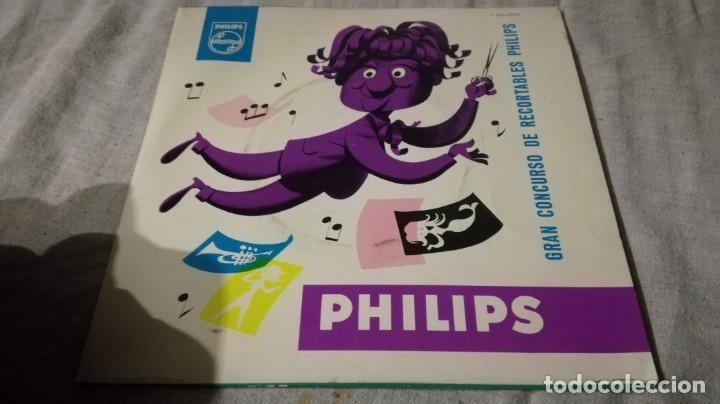 Discos de vinilo: la melodia viajera-gran concurso recortables philisps - Foto 2 - 132304298