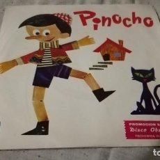Discos de vinilo: PINOCHO-PROMOCION STARLUX-MARTES CUENTOS INFANTILESINFANTIL/ PI22. Lote 132305786