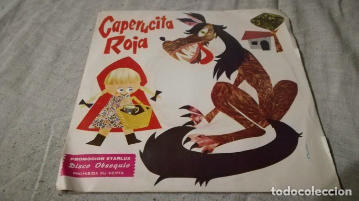 CAPERUCITA ROJA-PROMOCION STARLUX-MARTES CUENTOS INFANTILES (Música - Discos de Vinilo - EPs - Música Infantil)