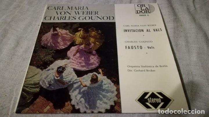 INVITACION AL VALS-FAUSTO-WEBER-GOLINOD-SINFONICA BERLINCLASICOS/ PI22 (Música - Discos de Vinilo - EPs - Música Infantil)