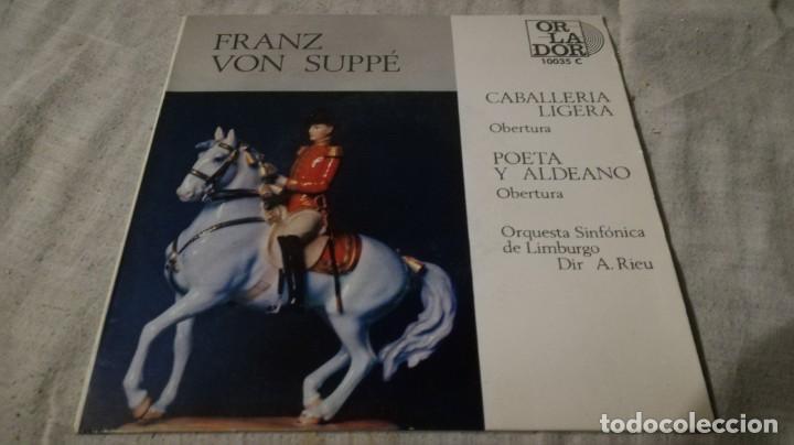 CABALLERIA LIGERA-POETA Y ALDEANO-FRANZ VO SUPPE-SINFONICA LIMBURGOCLASICOS/ PI22 (Música - Discos de Vinilo - EPs - Música Infantil)