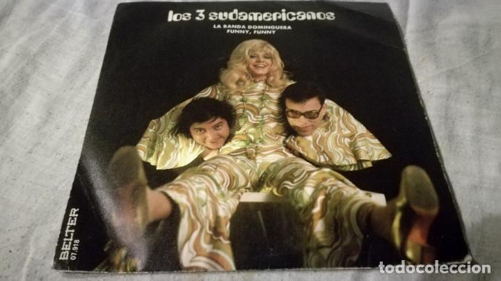 LOS TRES SUDAMERICANOS-LA BANDA DOMINGUERA FUNNY FUNNY (Música - Discos de Vinilo - EPs - Música Infantil)