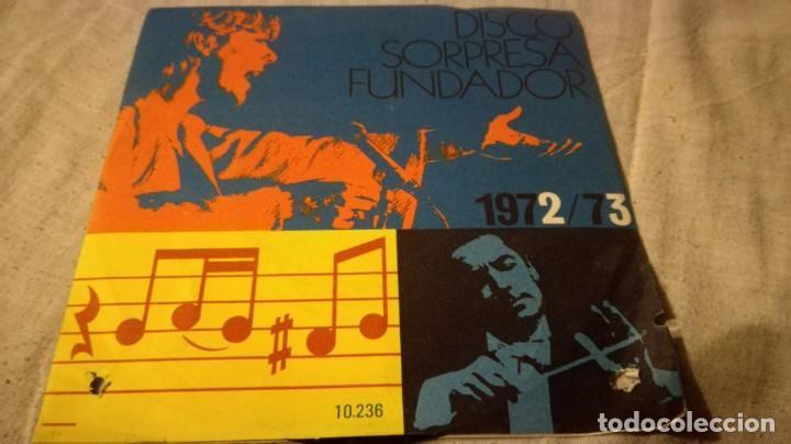 DISCO SORPRESA FUNDADOR 1972/73 - 10236PUBLICIDAD/ PI22 (Música - Discos de Vinilo - EPs - Música Infantil)