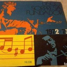 Discos de vinilo: DISCO SORPRESA FUNDADOR 1972/73 - 10236PUBLICIDAD/ PI22. Lote 132308398