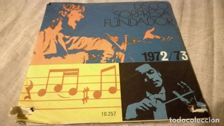 DISCO SORPRESA FUNDADOR 1972/73 - 10257PUBLICIDAD/ PI22 (Música - Discos de Vinilo - EPs - Música Infantil)