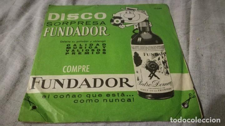 DISCO SORPRESA FUNDADOR - 10044PUBLICIDAD/ PI22 (Música - Discos de Vinilo - EPs - Música Infantil)
