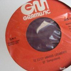Discos de vinilo: GRUPO FANTASMA - TE ESTOY AMANDO LOCAMENTE SG GRAMUSIC 1974 - ACID RUMBA - RUMBAS POP - GRECAS. Lote 155927466